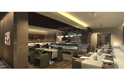 executive lounge - radisson world trade centre, dubai