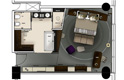 standard bedroom plan - the westin doha