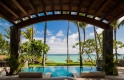 villa one - terrace pool - le saint geran, mauritius