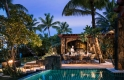 villa one - terrace private dining - le saint geran, mauritius